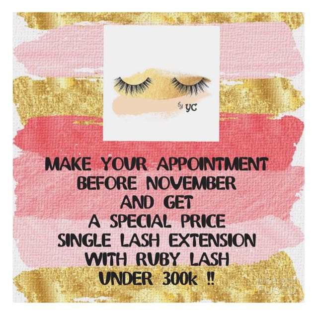 Single Lash Extension