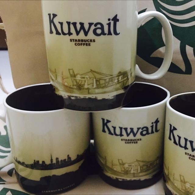 Starbucks Mug Global Icon(KUWAIT)