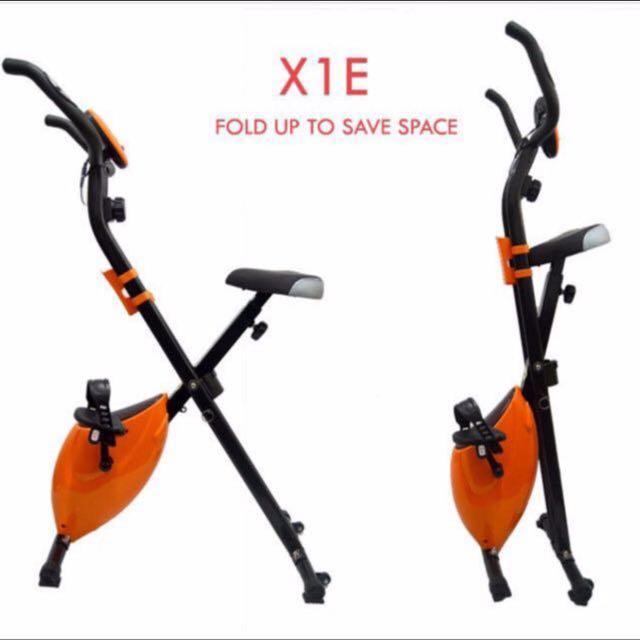 Sturdy Foldable Exercise stationary bike