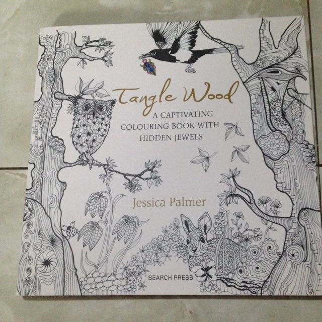 Tangled Wood Coloring Book
