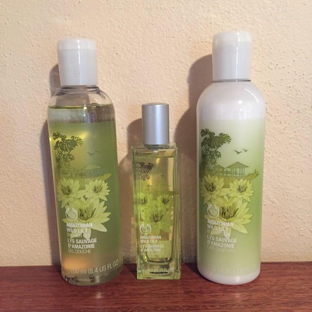 The Body Shop, Amazonian Wild Lily