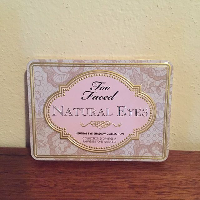 Too Faced Natural Eyes Eyeshadow