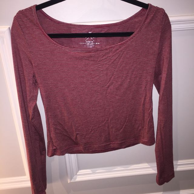 Urban Planet Cropped Long Sleeve