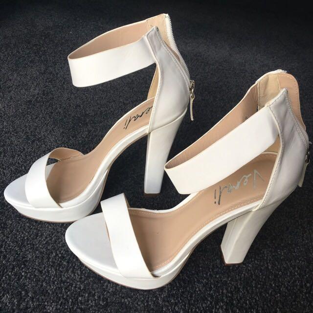 Verali 'Bron' Heels Size 8