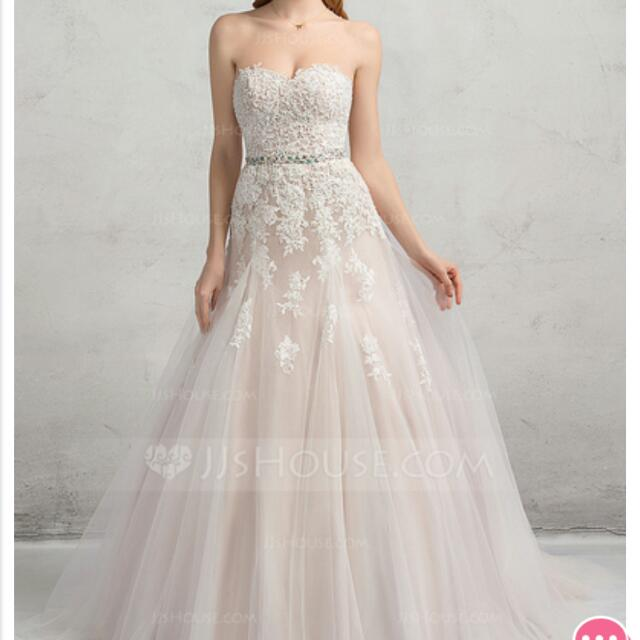 Wedding Dress Ball Gown Ivory With Sequins
