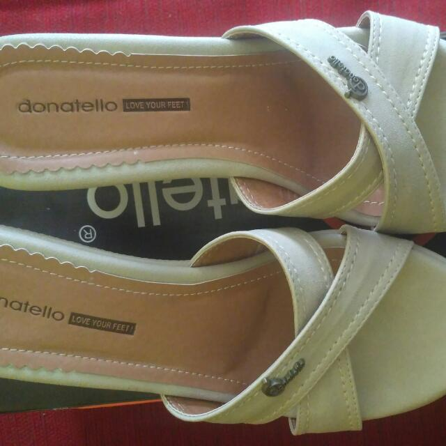 Wedges Donatello Aseli (Khaky) Uk 38