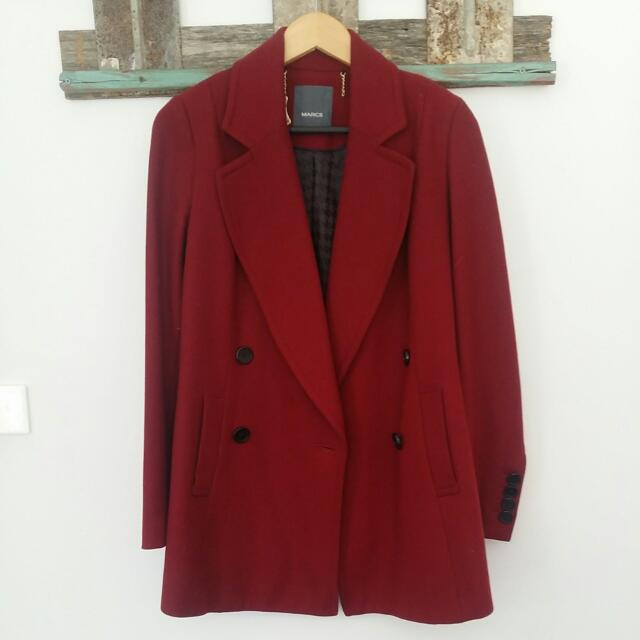 Wool Coat- MARCS