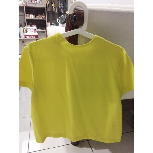 Yellow Neon Top By Lookboutiquestore