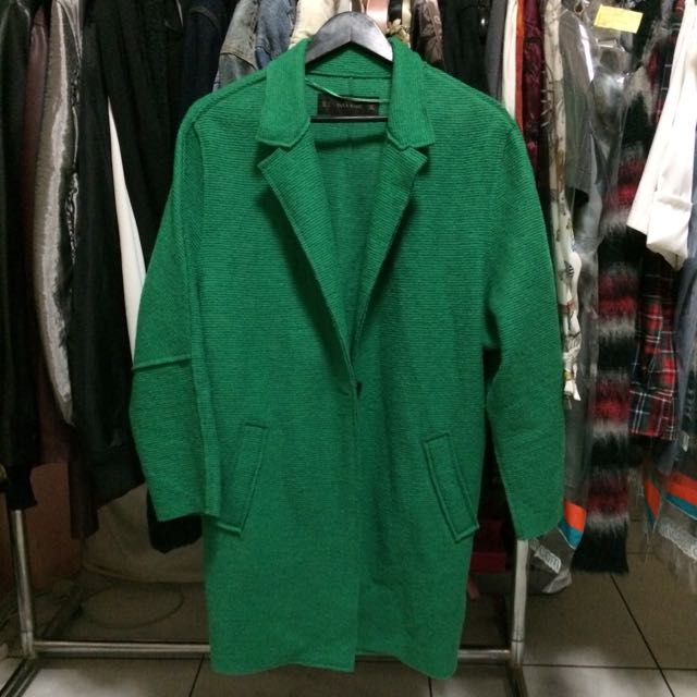 Zara Green Coat
