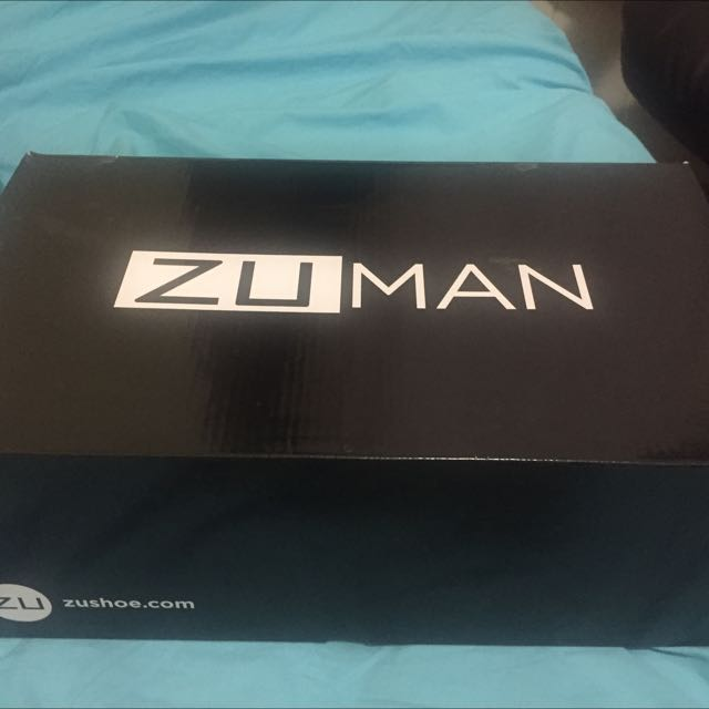 Zu Man Vortex Suede Formal Shoes - Size 10