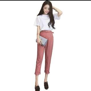 Pink Pants + Shirt