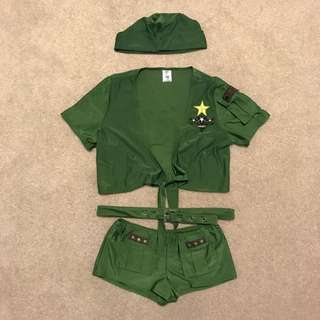 ** REDUCED ** Sexy Sergeant Halloween Costume