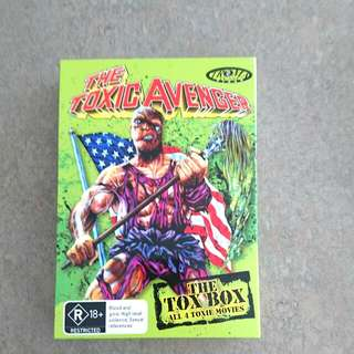 The Toxic Avenger 4 DVD Box Set. Rated R18 +