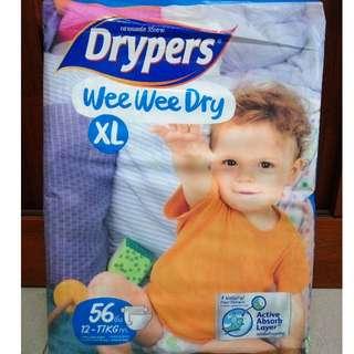 Drypers Wee Wee Dry XL56