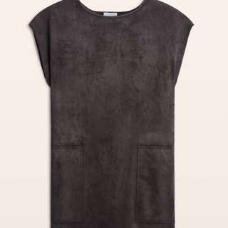Aritzia Wilfred Free Nori Suede Dress
