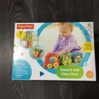 Stacking train For Toddlers