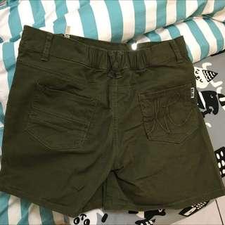 Major 軍綠褲裙