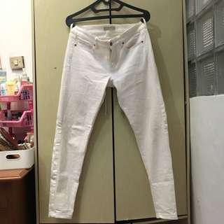 Uniqlo Original White Skinny Jeans