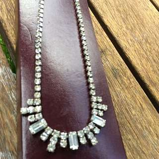 Vintage diamanté Necklace
