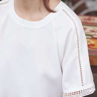 [PRELOVED] Cotton Ink Maori Blouse Off White