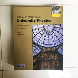 Sears & Zemansky's University Physics