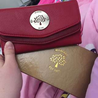 Mulberry Red Purse