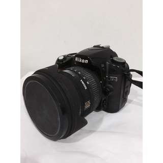 Nikon D80 with Sigma 10-20mm f/4-5.6 EX DC HSM Lens