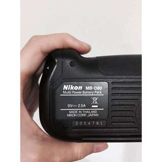 Nikon MB-D80 Multi Power Battery Pack For Nikon D80/D90