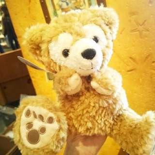 迪士尼海洋duffy達菲熊手掌玩偶