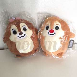{Instock} Disney Mocchi-Mocchi Mini Plush Chip And Dale