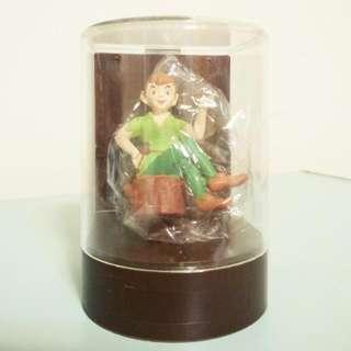 迪士尼 彼得潘 櫥窗 公仔 扭蛋 玩具 收藏