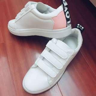 魔鬼氈板鞋/白球鞋