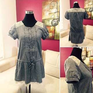 Preloved Soft Denim Dress