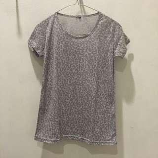 Grey Cheetah Tshirt