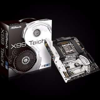 ASRock X99 Taichi LGA 2011-v3 Intel X99 SATA 6Gb/s USB 3.1 USB