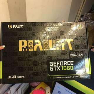Palit GeForce GTX 1060 Dual 3Gb 低熱芯片