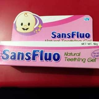 SansFluo Teething Gel