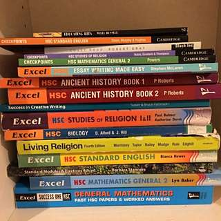 YEAR 12 HSC TEXTBOOKS