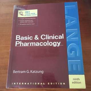 Basic And Clinical Pharmacology 9th Ed