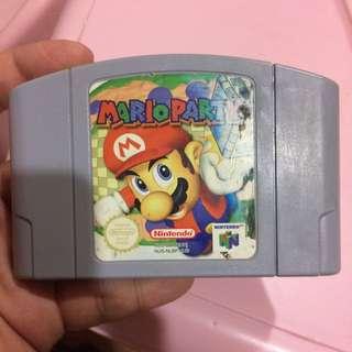 Nintendo 64 N64 Mario Party