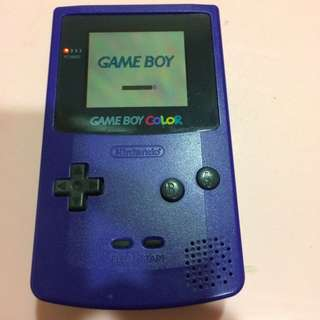 Game Boy Color With Game