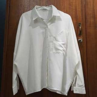 Cotton Ink broken white shirt
