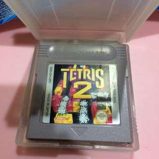 Tetris 2 CIB Original Game Boy