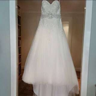 LUVBRIDAL WEDDING DRESS