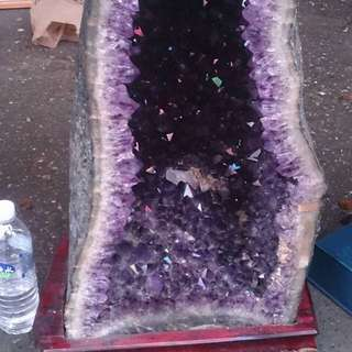 50~60公斤頂級紫水晶洞