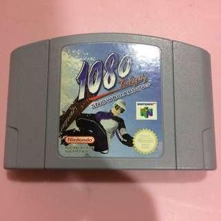 Nintendo N64 Game - 1080 Snowboarding