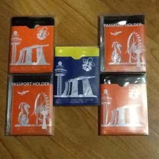 Passport Holders by Discover Singapore (Brand New)