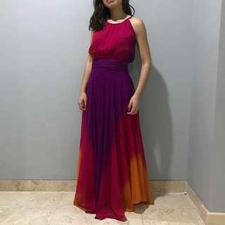 Red Herring Maxi Dress