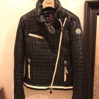Monlcer Down Black Jacket
