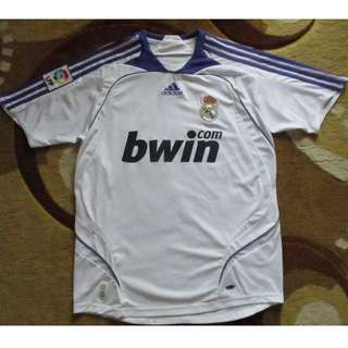 Original Real Madrid 2007/08 Home Jersey